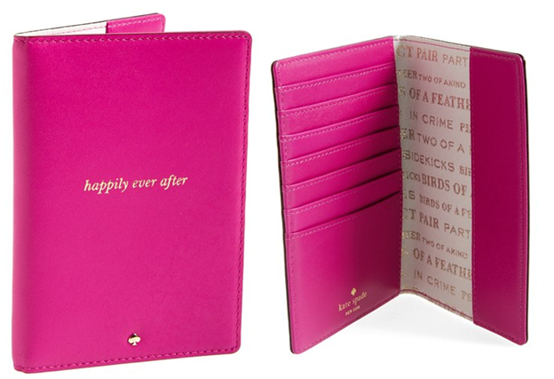 'wedding belles - happily ever after' passport cover