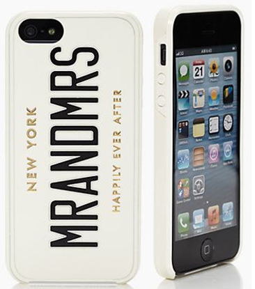 MR AND MRS IPHONE 5 CASE